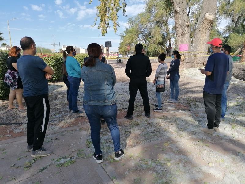 Vecino encaran a subsecretario de gestión ambiental de Cajeme