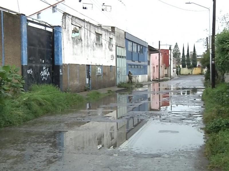 Vecinos de Bugambilias sufren estragos por lluvias cada año