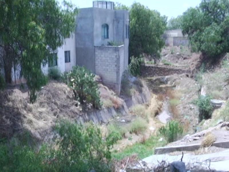 Vecinos de Moradores temen deslave por lluvias