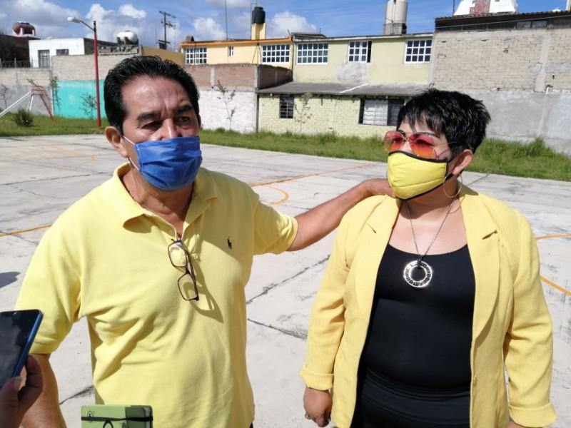 Vecinos de Toluca se oponen a instalación de torres