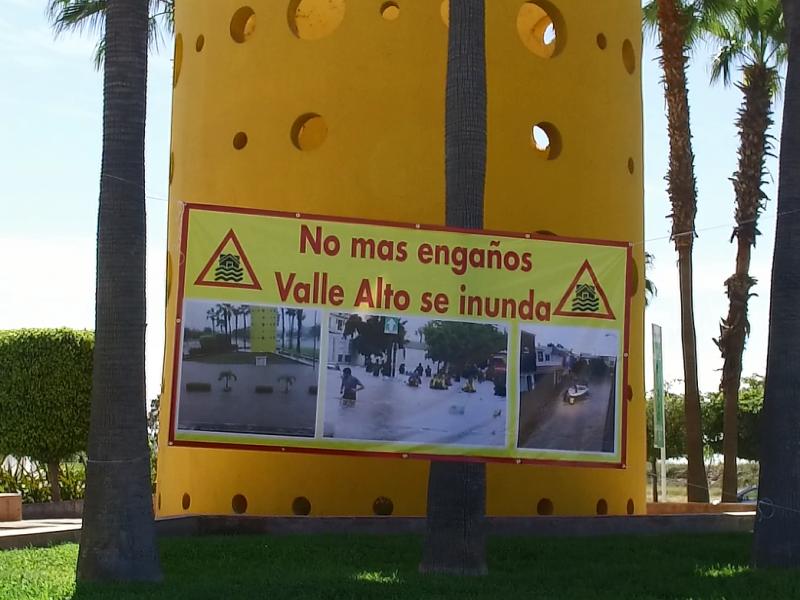 Vecinos de Valle Alto exiges solución a inundaciones