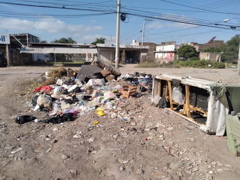 Vecinos denuncian acumulación de basura en Villas de San Nicolás