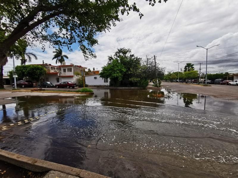 Vecinos exigen atiendan boca de tormenta en Sector Macapule