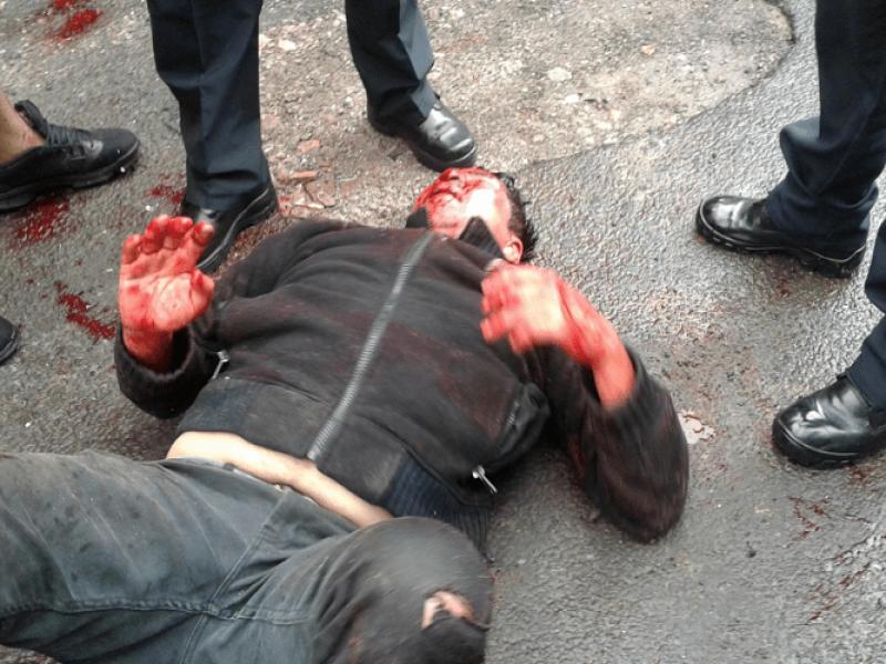 Vecinos golpean hasta el cansancio a un ladrón