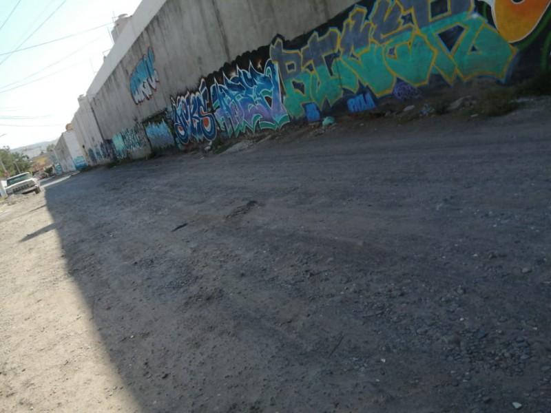 Vecinos reportan inseguridad, basura y falta de pavimentación
