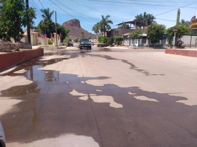 Vecinos señalan urge agua en viviendas