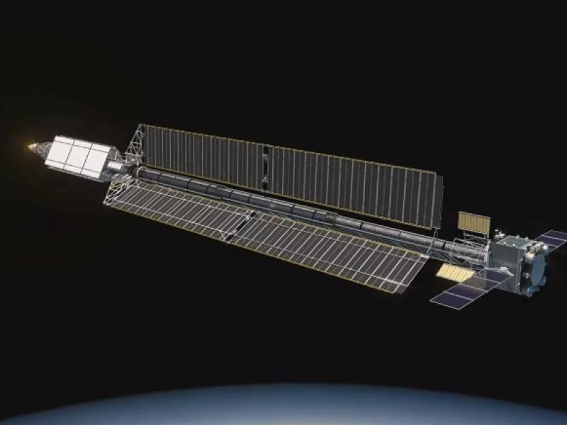 Vehículo espacial Zevs tendrá láseres para destruir satélites hostiles