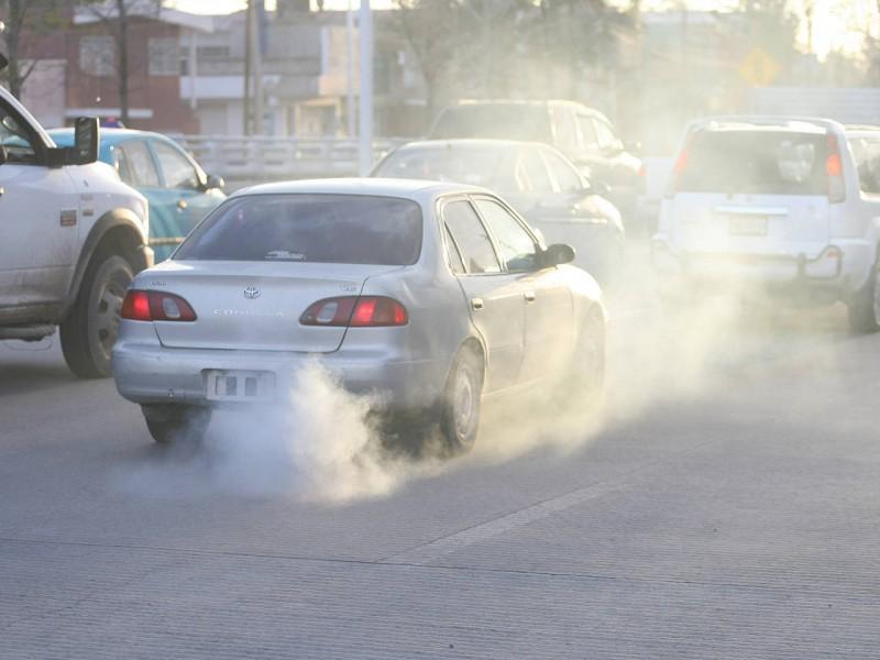 Vehículos particulares, mayor contaminante en Torreón