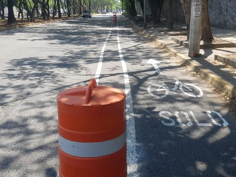 Ven positiva vía ciclista en Av. Hidalgo