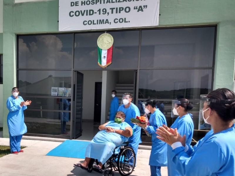 Vence al Covid-19 primera civil hospitalizada en 20 Zona Militar