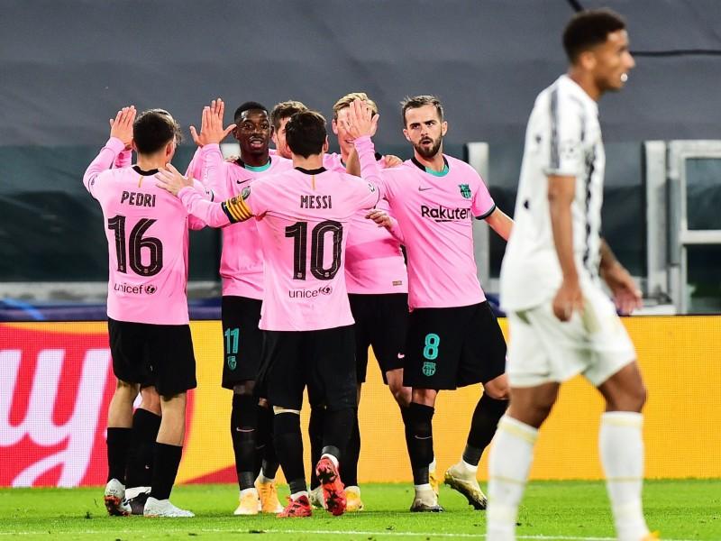 Vence el Barcelona a Juventus en Champions League