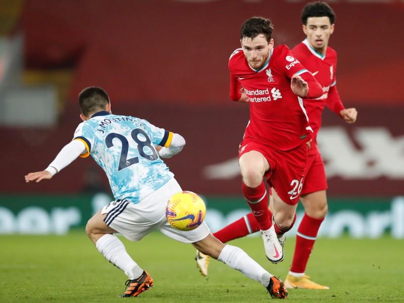Vence Liverpool al Wolverhampton sin Raúl Jiménez