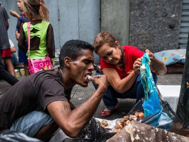 Venezolanos emigran para no morir de hambre