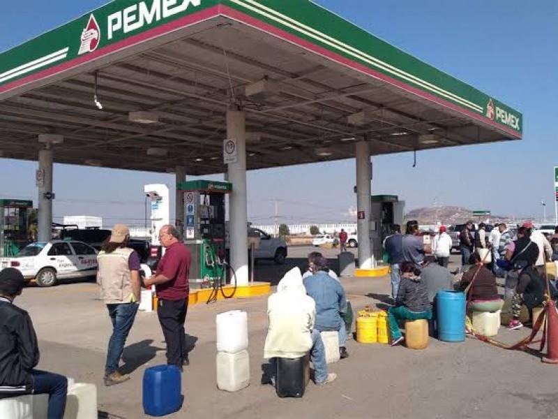 Venta de gasolina será con ficha