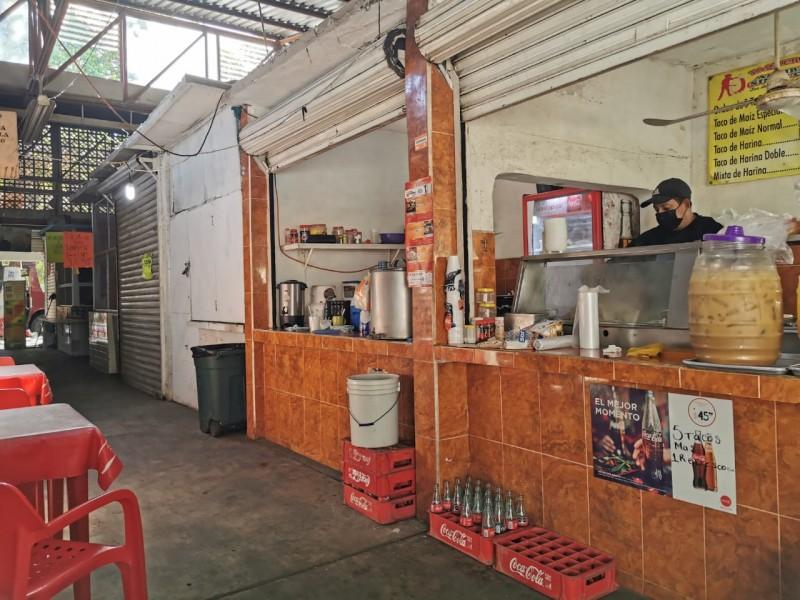 Ventas no reaccionan en el mercado Cuauhtémoc
