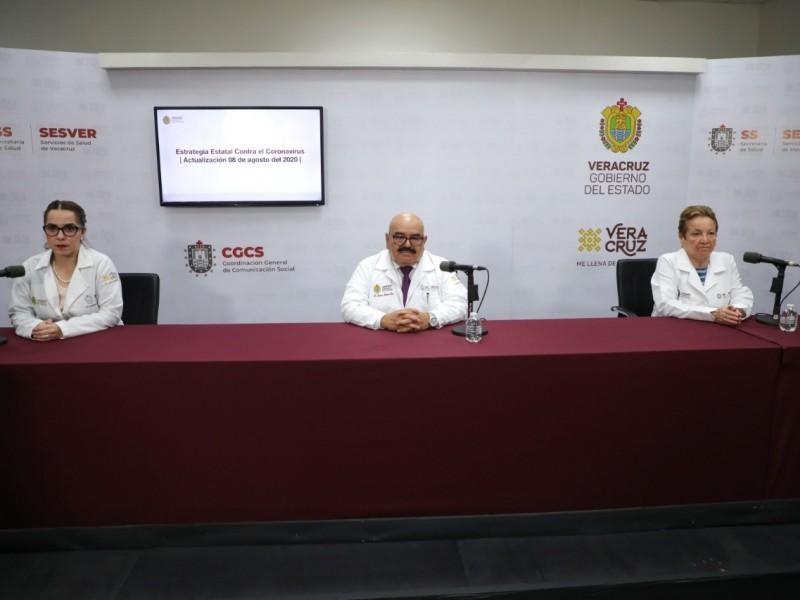 Veracruz acumula 3 mil 74 muertes por covid