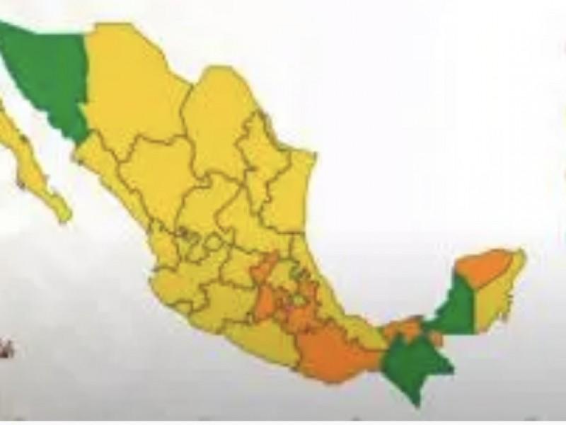 Veracruz continúa en semáforo epidémico en amarillo