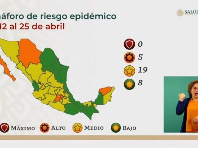 Veracruz en Semáforo Epidemiológico verde por dos semanas más