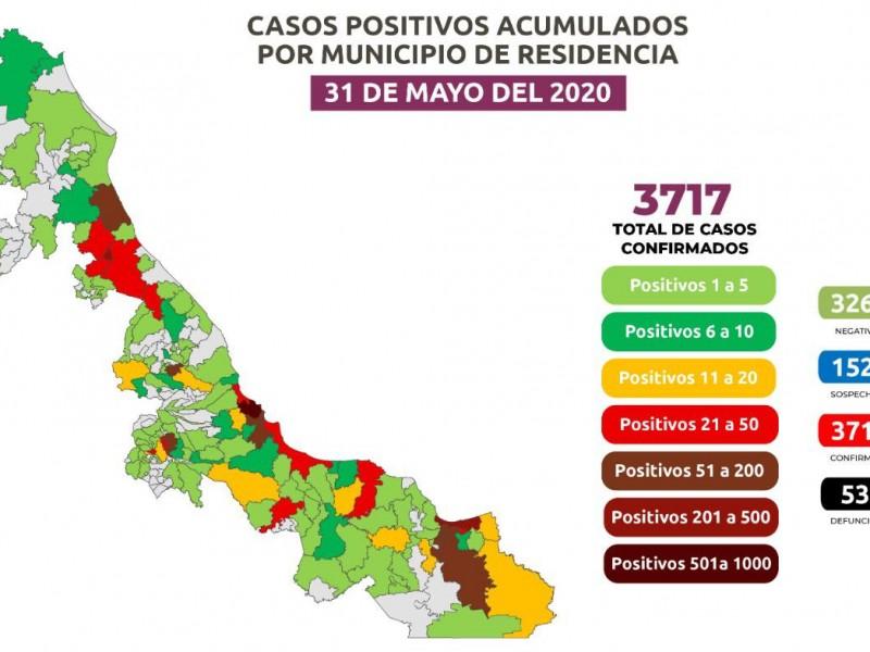 Veracruz registra 538 muertes por Coronavirus