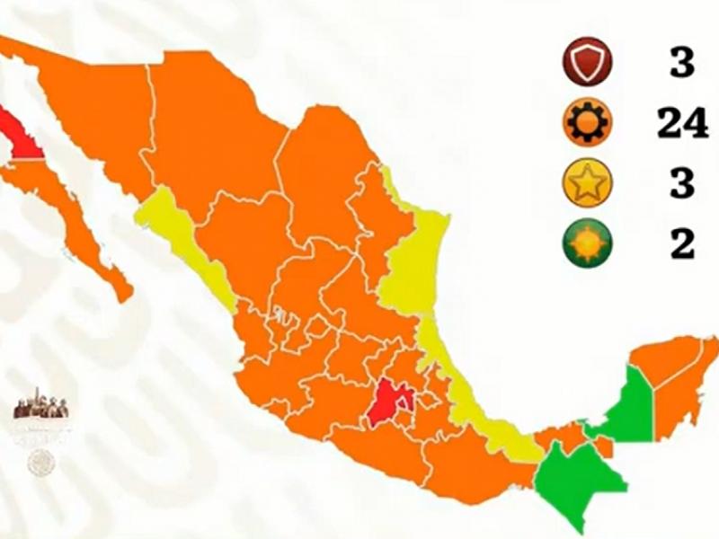 Veracruz regresa a semáforo amarillo