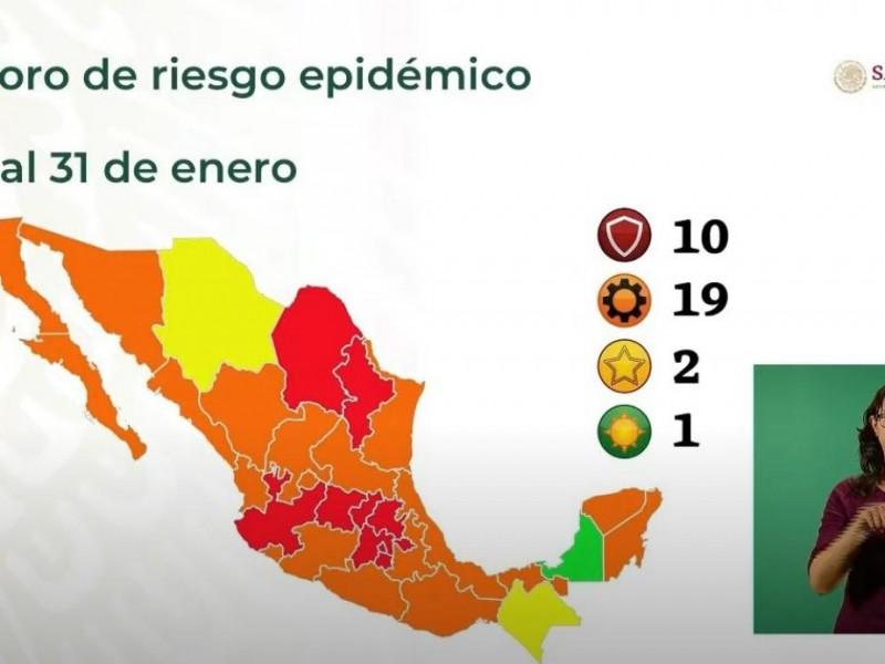Veracruz retrocede de nuevo a Semáforo Naranja