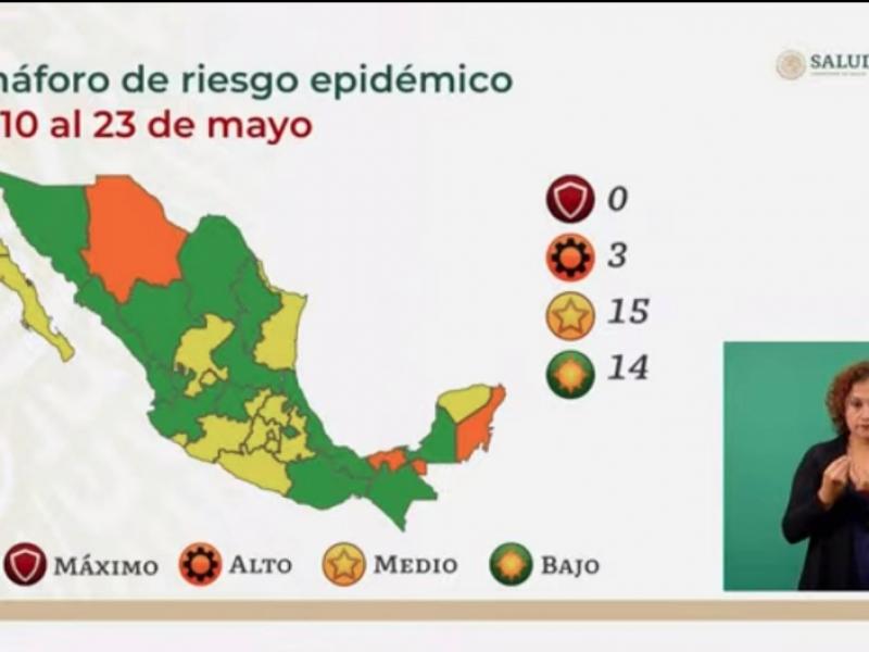 Veracruz se mantiene en Verde por cuarto periodo epidemiológico