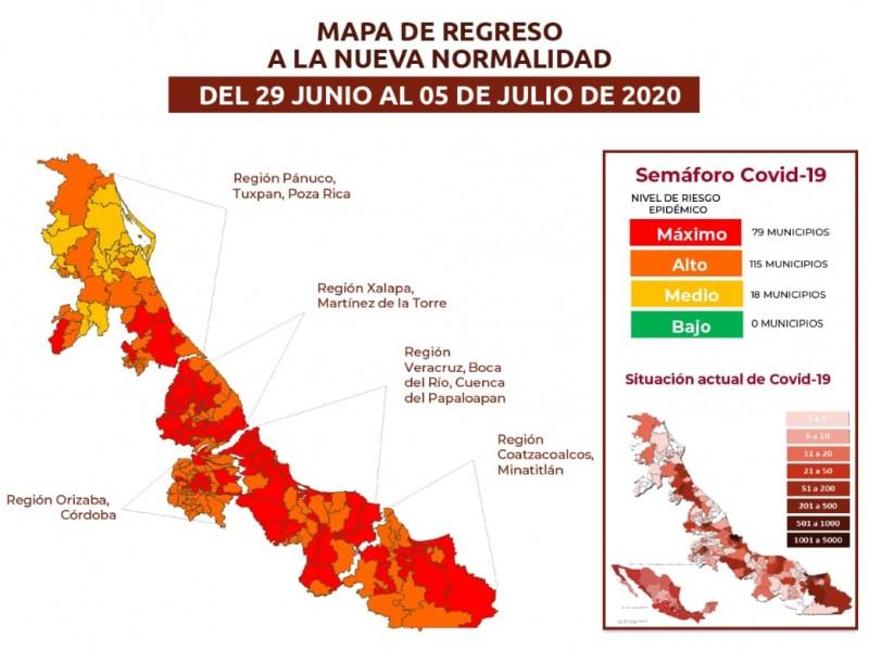 Veracruz suma mil 488 defunciones por coronavirus