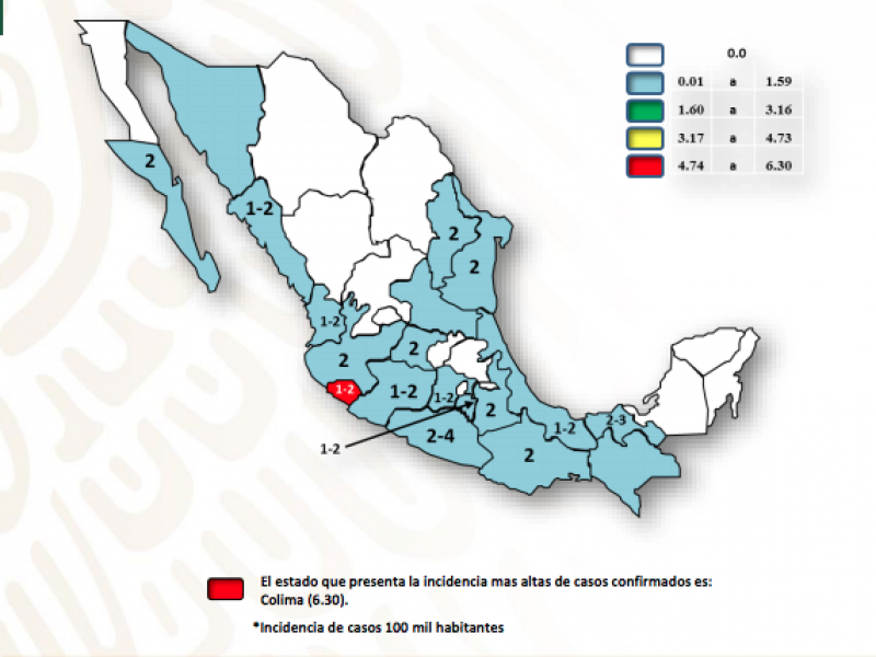 Veracruz tercer lugar nacional en incidencia de Dengue