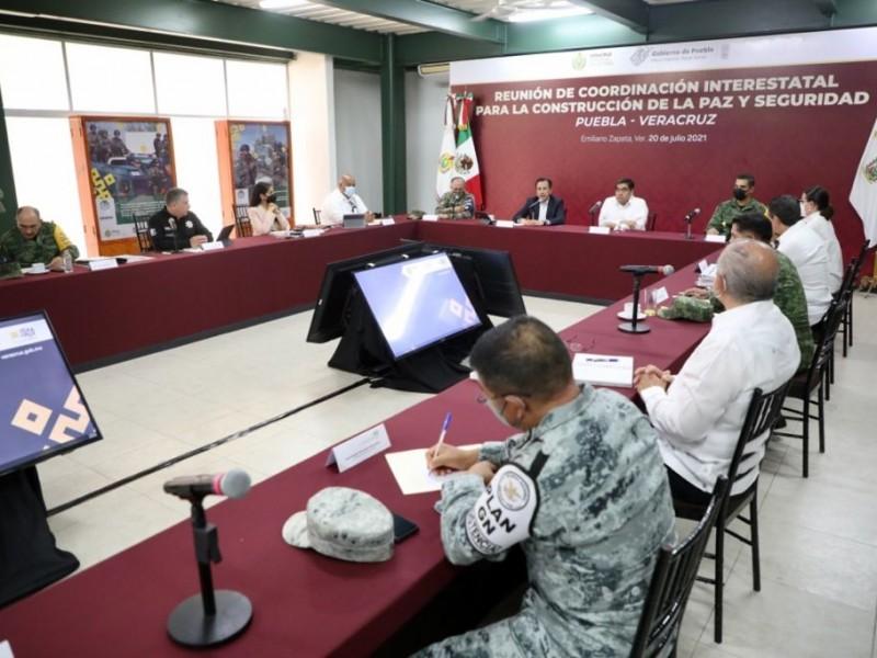 Veracruz y Puebla se unen contra la delincuencia
