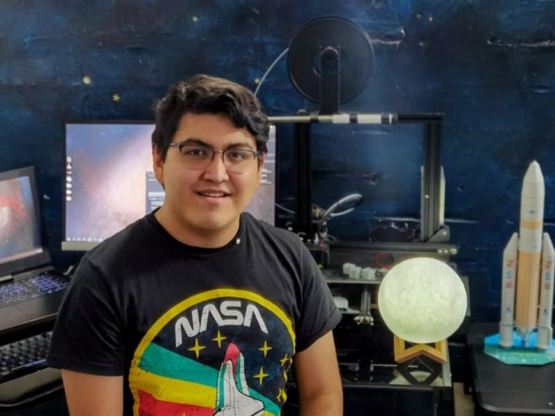 Veracruzano a punto de alcanzar su sueño de ser astronauta