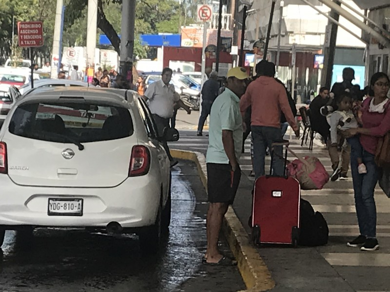 Veracruzanos a favor de plataformas de servicio pasajeros