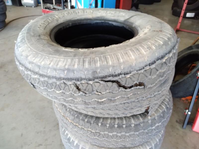Verificación periódica de neumáticos puede evitar accidentes