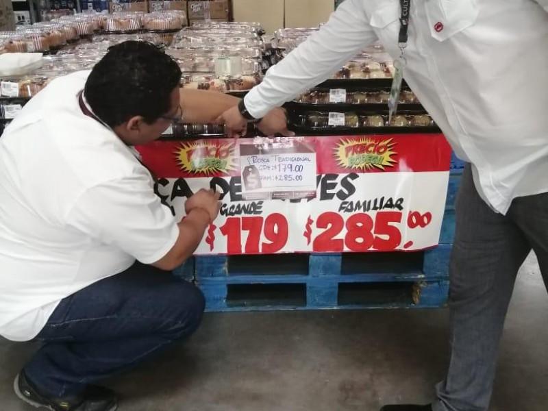 Verificará PROFECO establecimientos previo a Reyes