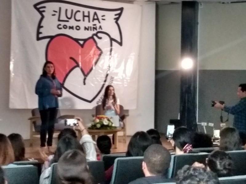 Verónica Delgadillo respalda lucha feminista