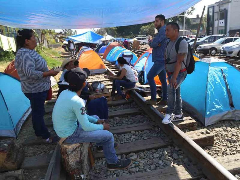Vías férreas bloqueadas en Michoacán fueron liberadas: Óscar del Cueto