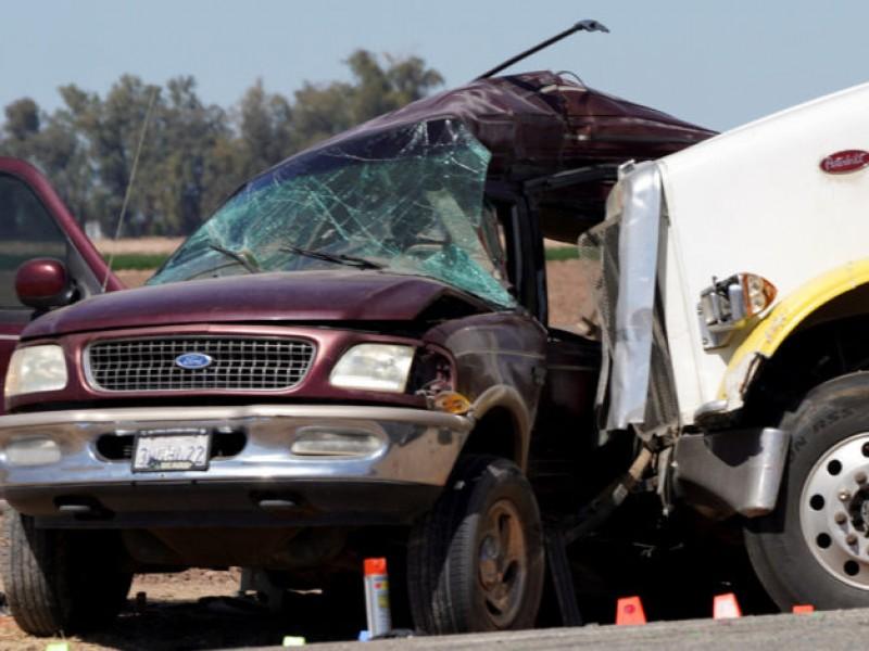 Michoacanos entre víctimas de accidente en EE.UU.