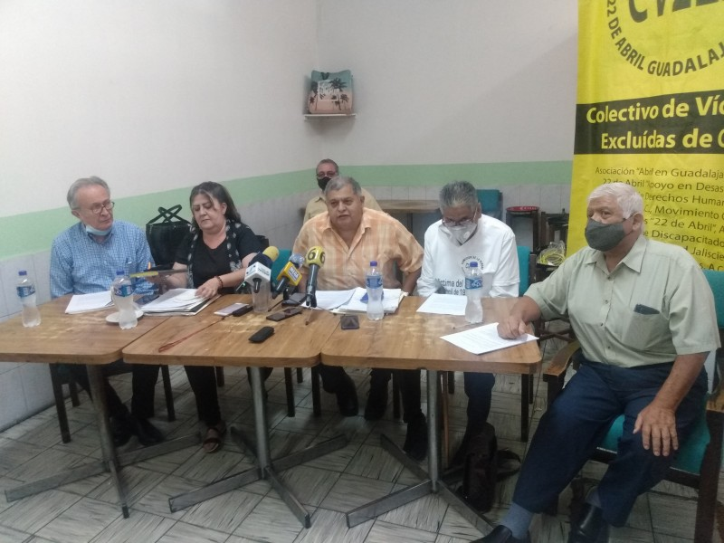 Víctimas de explosiones piden que no desaparezca fideicomiso de ayuda