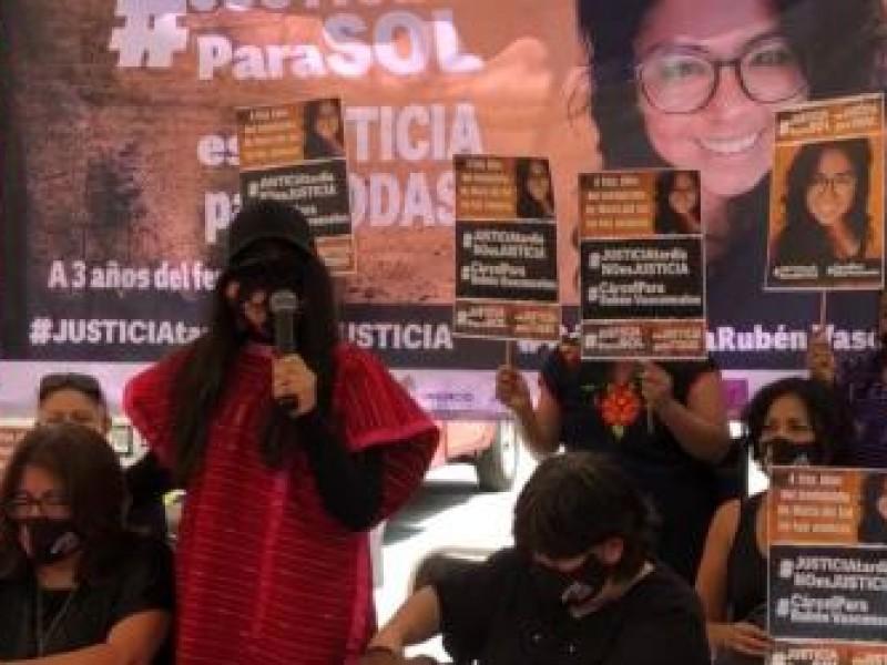Victimas de feminicidios exigen revisión de futuros Magistrados en Oaxaca