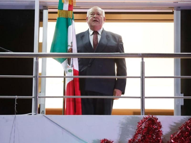 Víctor Castro en su primer