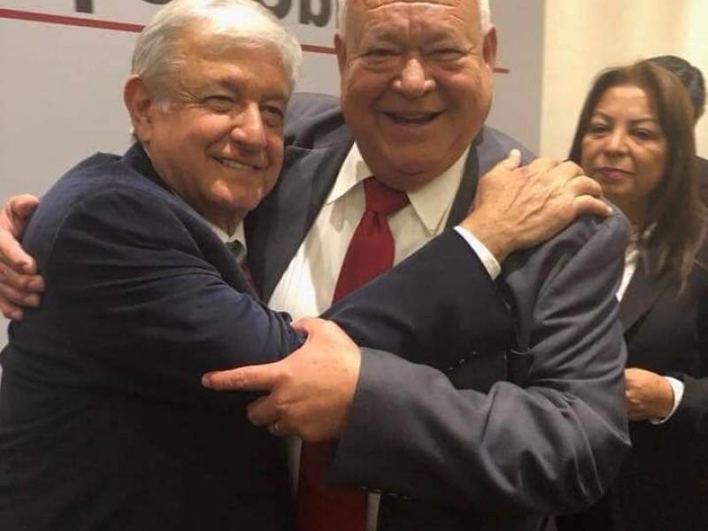 Víctor Castro se reunirá con el presidente López Obrador