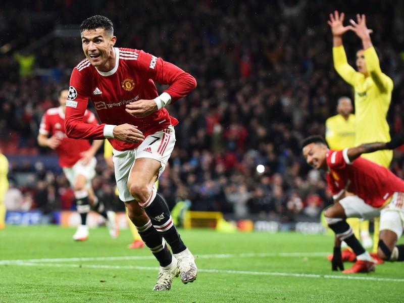 Victoria del Manchester United sobre el Villarreal. CR7 héroe