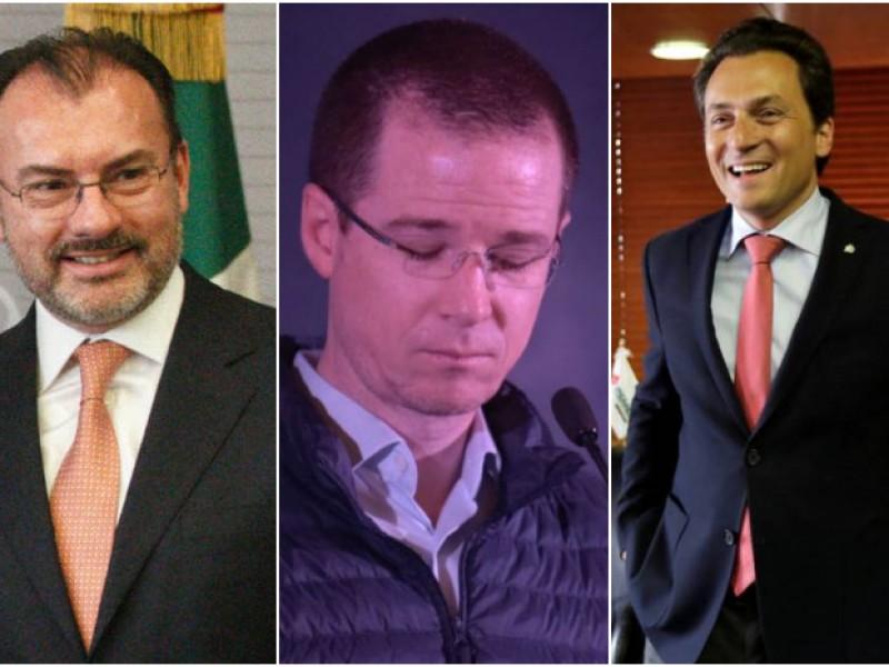 Videgaray, Anaya y Cabeza de Vaca le responden a Lozoya