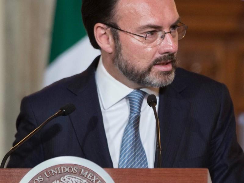 Videgaray habla de coordinación en cambio de poderes