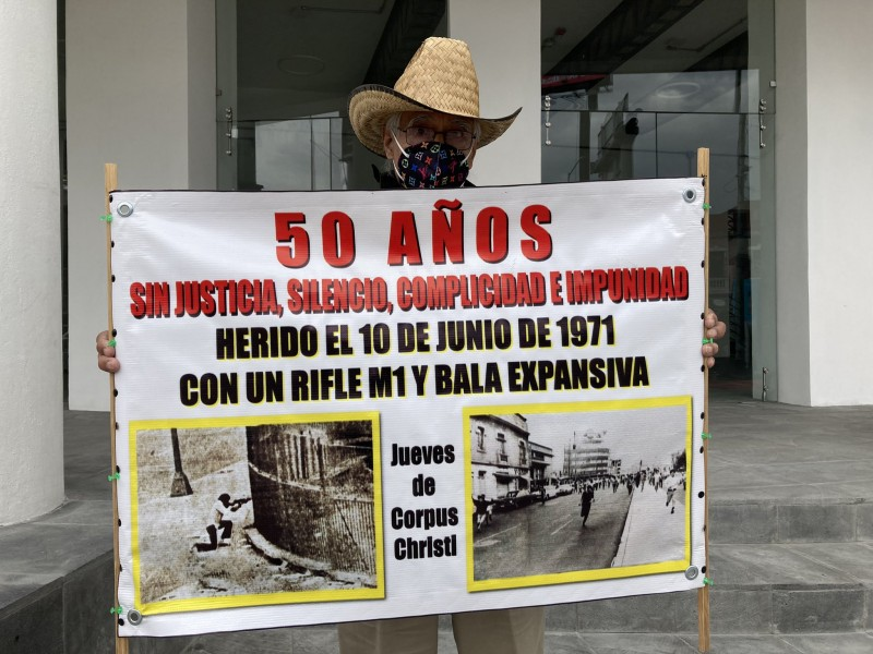 """Video: Alerta vial CDMX: marcha a 50 años del """"Halconazo"""""""