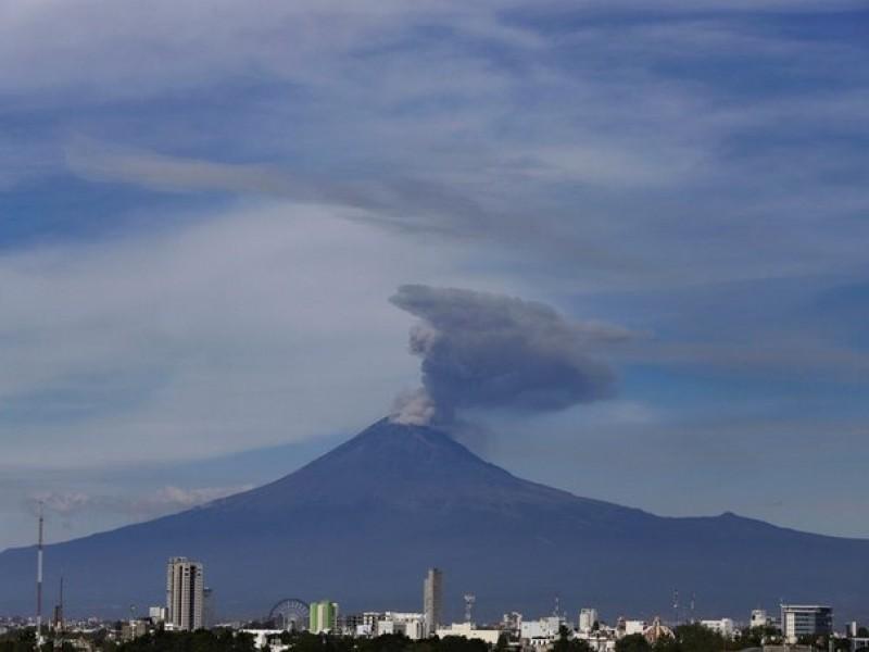 (VIDEO) Popocatépetl registra explosión durante la madrugada