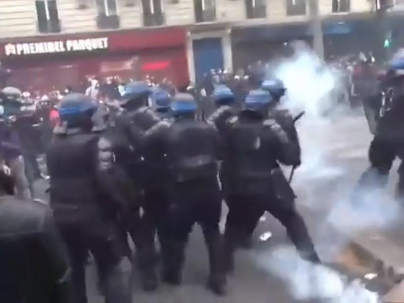 VIDEOS Caos en Francia por el día del trabajo