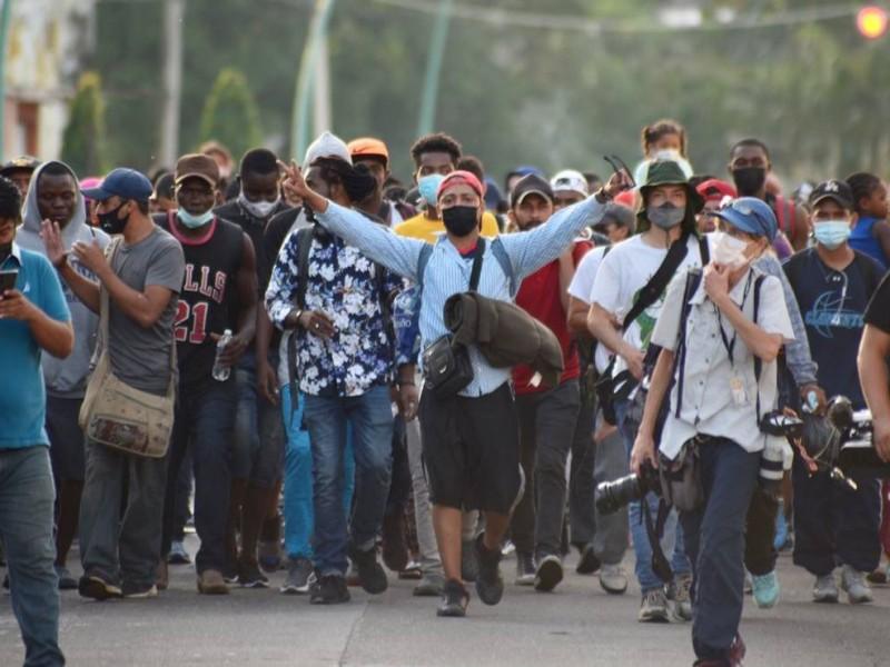 VIDEOS ǀ Tensión en Chiapas por nueva caravana migrante