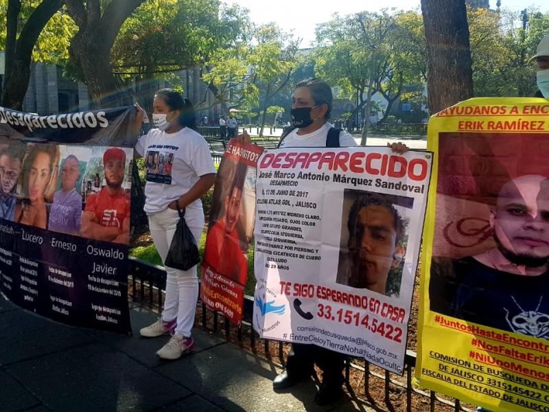 Vigilan colectivos de personas desaparecidas votación de leyes