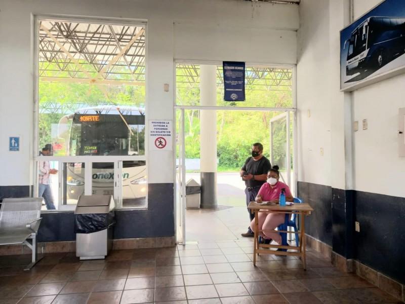 Vigilan condición de conductores en Central Tuxpan