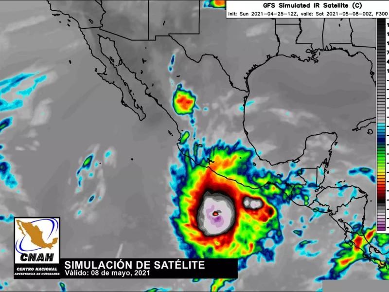 Vigilan desarrollo de Kelvin primer ciclón sobre el Pacífico